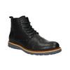 Men's Leather Ankle Boots bata, black , 896-6667 - 13