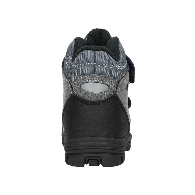 Children's Winter Boots with Hook-and-Loop Closures mini-b, gray , 291-2626 - 17