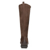 Brown leather high boots with zip flexible, brown , 594-4651 - 15
