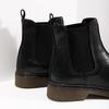 Ladies' leather Chelsea boots bata, black , 594-6680 - 14