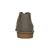 Men's ankle boots with stitching bata, brown , 826-4920 - 16