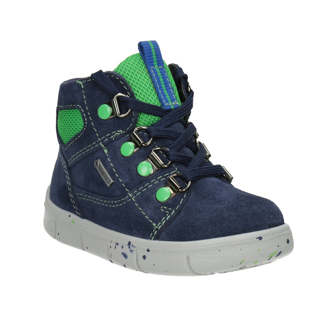 Children's ankle boots, blue , 113-9029 - 13