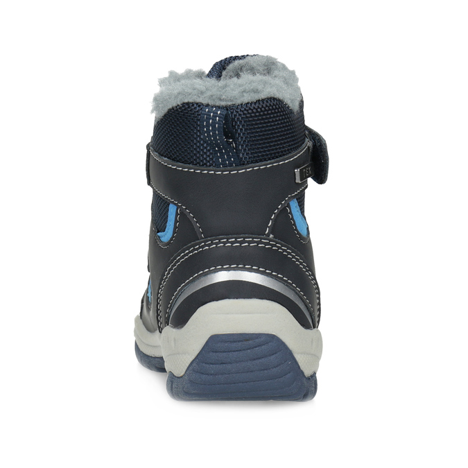 Children's Winter Boots with Fleece bubblegummer, blue , 199-9602 - 15