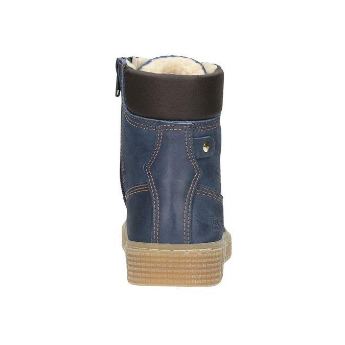 Children's Insulated Winter Boots mini-b, blue , 496-9620 - 16