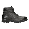 Men's Leather Ankle Boots bata, gray , 896-2682 - 26