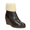 Leather Insulated High Boots manas, brown , 796-4649 - 13