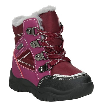 Girls' Winter Boots bubblegummer, red , 199-5603 - 13