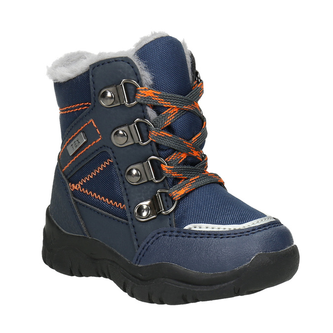 Children's Winter Boots with Fleece bubblegummer, blue , 199-9603 - 13