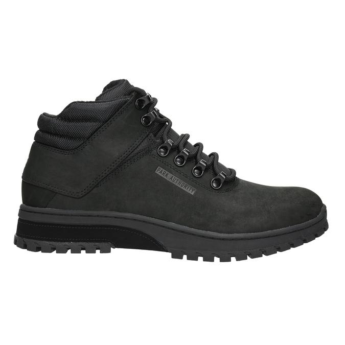 Men's black ankle boots, black , 806-6495 - 26