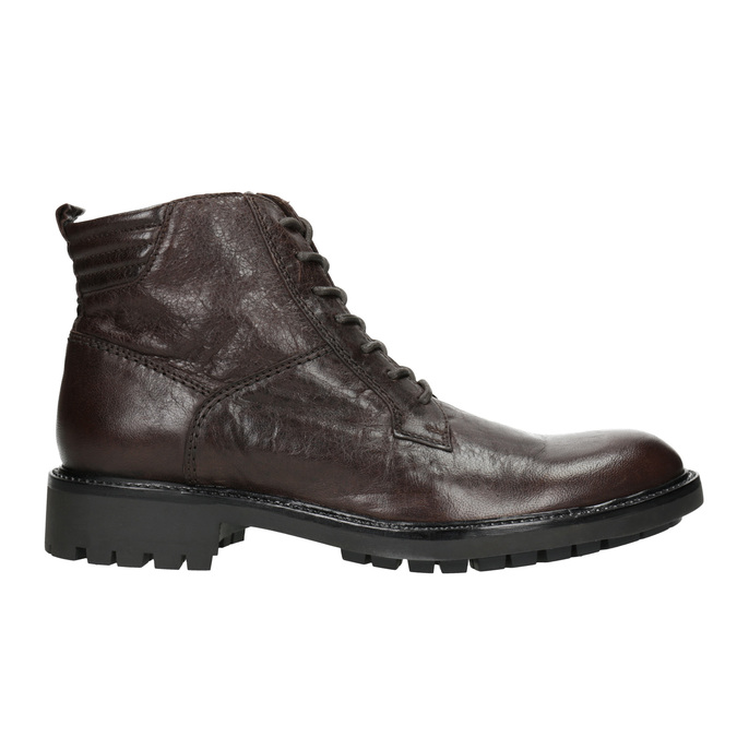 Leather Ankle Boots bata, brown , 894-4694 - 26