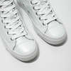 White ankle sneakers diesel, white , 501-6743 - 14