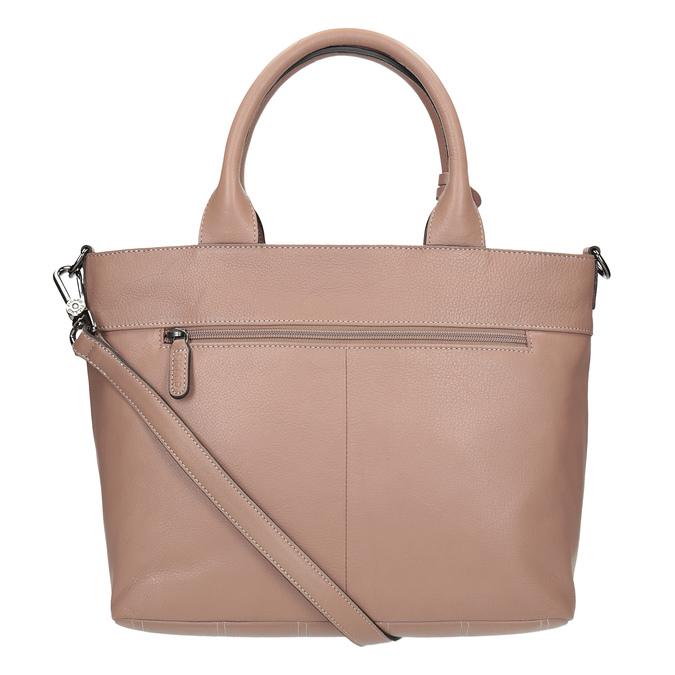 Beige Leather Handbag picard, beige , 964-6080 - 15