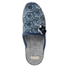 Ladies' slippers bata, blue , 579-9623 - 26
