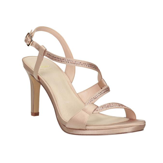Ladies' Sandals with Rhinestones bata, 729-8611 - 13