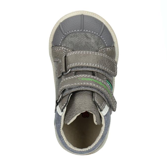 Kids' ankle boots bubblegummer, gray , 111-2614 - 15