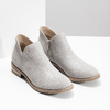 Ladies' ankle boots bata, gray , 596-2685 - 26