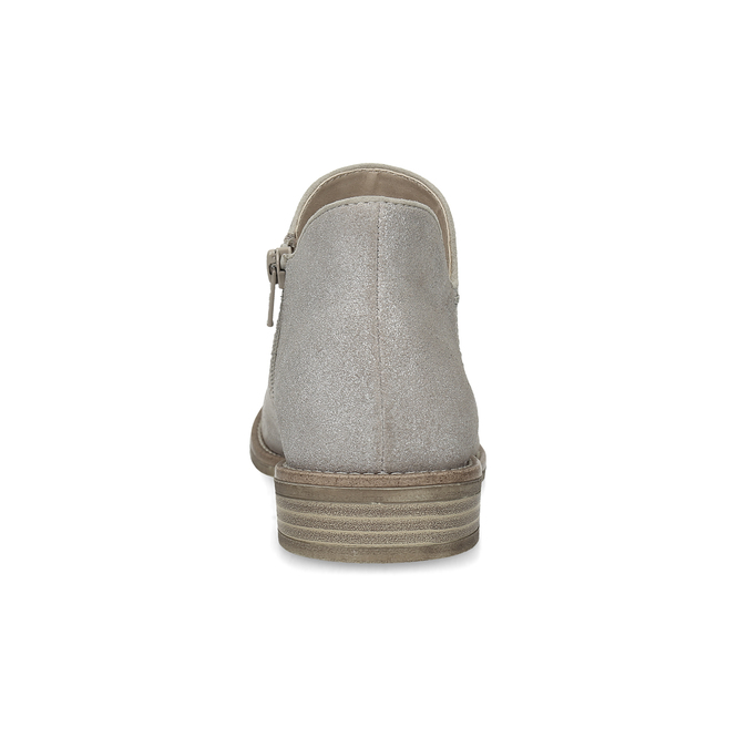 Ladies' ankle boots bata, gray , 596-2685 - 15