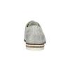 Ladies' leather Brogue shoes bata, white , 526-1649 - 15