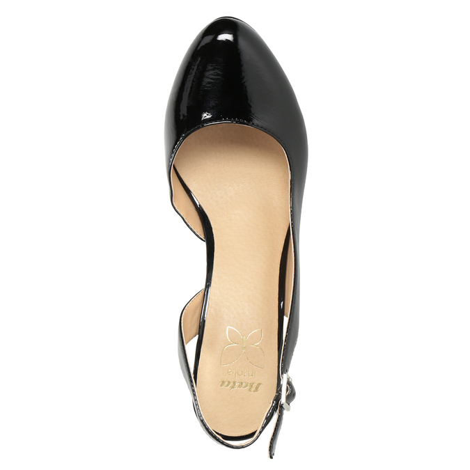 Stiletto pumps insolia, black , 721-6616 - 15