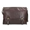 Men's Leather Bag bata, brown , 964-4235 - 17