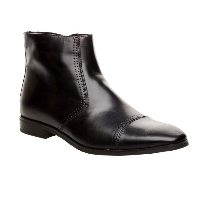 The Marc Chelsea Leather Boot, black , 2019-894-6578 - 13