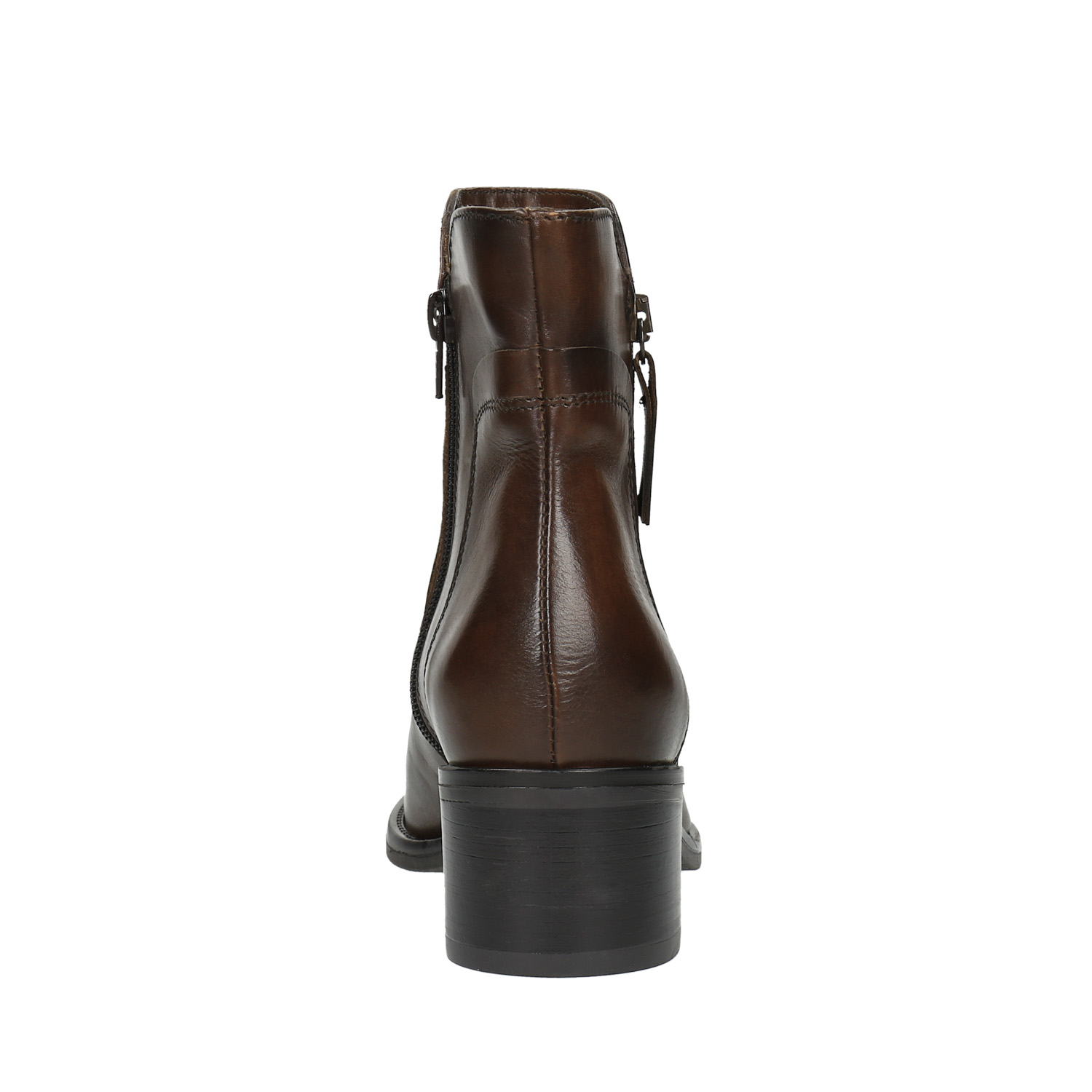 7e73ec25685 ... Leather ankle boots with zippers bata, brown , 694-4600 - 17 ...