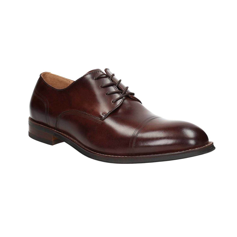 cdd2d9088d2e57 Bata Men's brown leather shoes - Special occasions   Bata
